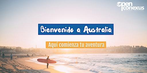 Bienvenido a Australia-MELBOURNE. Sesión informativa online. Open Conexus