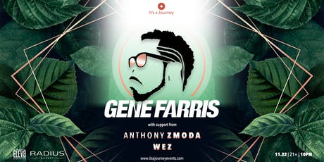 Gene Farris at Elev8 San Jose // November 22nd tickets