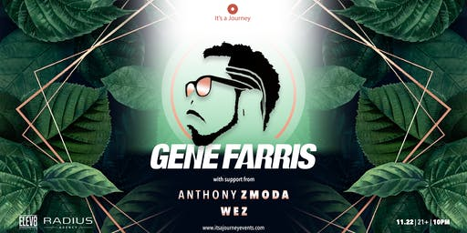 Gene Farris at Elev8 San Jose // November 22nd