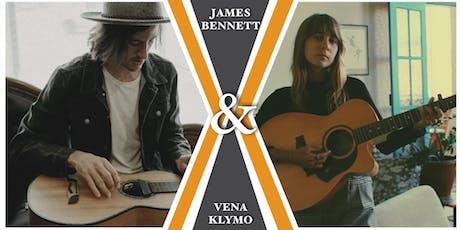 James Bennett & Vena Klymo / Kundabung Hall / Kundabung / NSW tickets
