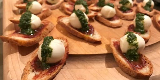Holiday hors d'oeuvres class at Red Mountain Kitchen