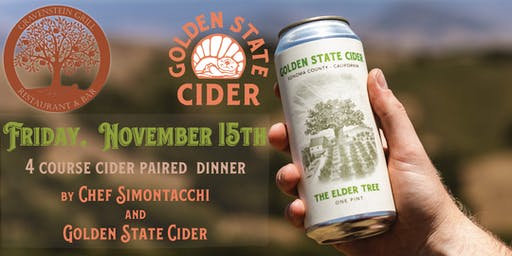 Golden State Cider Harvest Dinner
