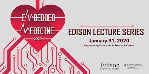 Edison Lecture Series 2020