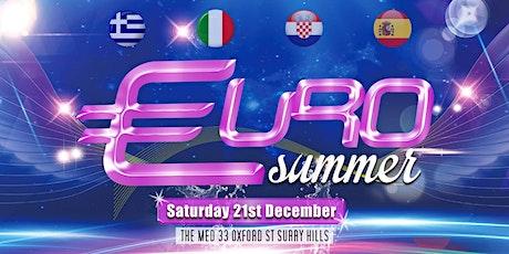 Euro Summer tickets