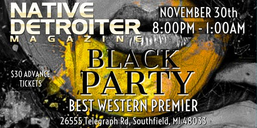 Native Detroiter Magazine Black Party