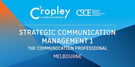 Strategic Communication Management 1: The Communication Professional tickets
