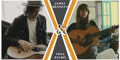 James Bennett & Vena Klymo / Licorice & Chocolate Factory / Junee /  NSW tickets