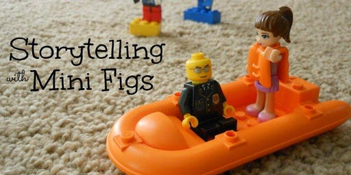 I Can Create Story Telling LEGO Education Class