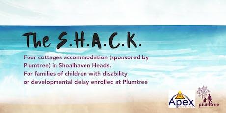 The SHACK- February 2020 tickets