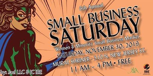6th Annual Women & Minority Small Business Saturday, Small Business Market