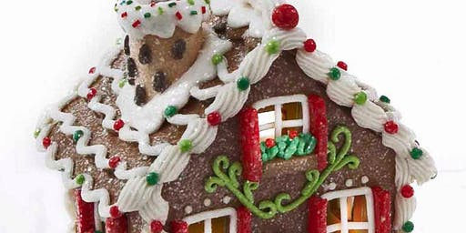 Elegant Gingerbread House Decorating Workshop