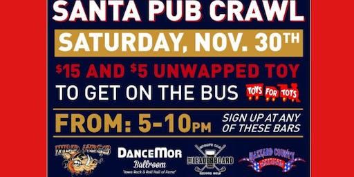 Santa Pub Crawl 2019 - DanceMor Bus