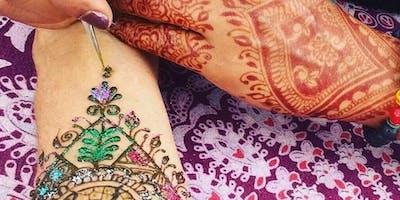 Henna Body Art Party Part 2