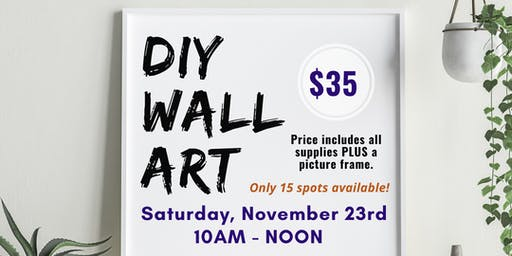 Art & Craft Series: DIY Wall Art