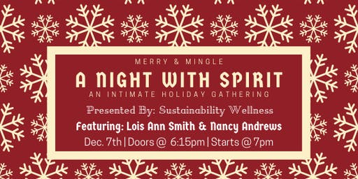Merry & Mingle with Messages from Spirit