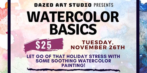 Art & Craft Series: Watercolor Basics