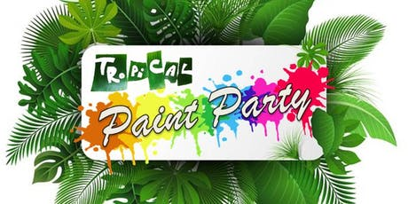 "Teacher Party: 4th Grade ""Painting in a Tropical Wonderland"" tickets"