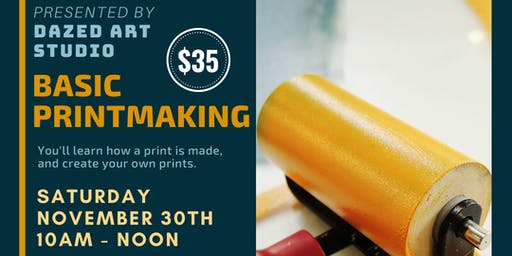 Art & Craft Series: Basic Printmaking