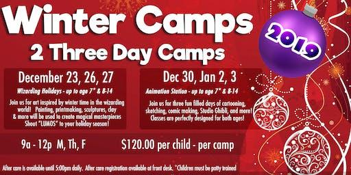 Winter Art Camp (Wizarding Holidays)