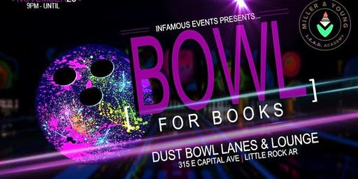 Miller & Young L.E.A.D Presents BOWL FOR BOOKS
