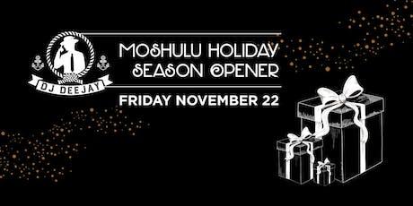 DJ Deejay Moshulu Boat Party! Holiday Season Opener! tickets