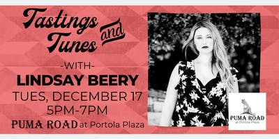 Live Music - Tastings & Tunes w/ Lindsay Beery