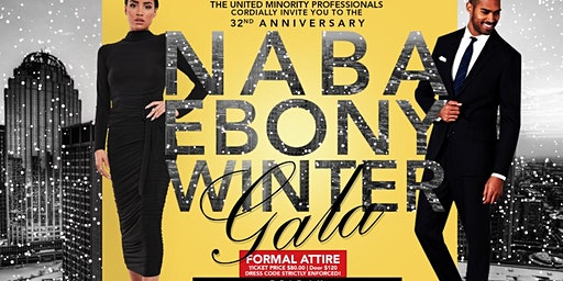 32nd Annual NABA/UMP Ebony Winter Gala - Phi Beta Sigma Fraternity, Inc.