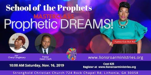School of the Prophets MasterClass: Prophetic Dreams
