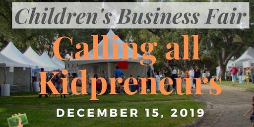 Children's Business Fair