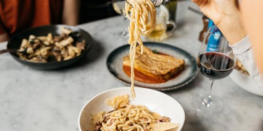Pasta Making with Lunch + Drinks at +39 Pizzeria