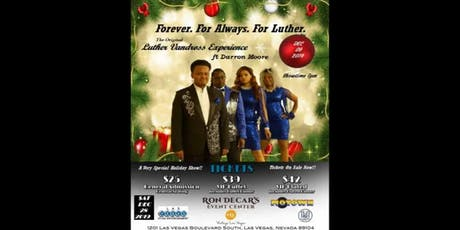 Forever, For Always, For Luther. A Vegas Dinner and Music Event tickets
