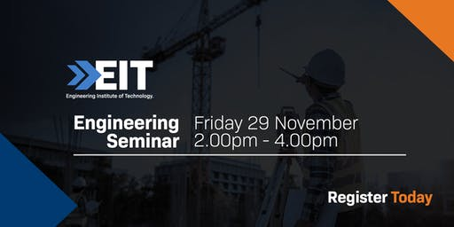 EIT Engineering Seminar in Melbourne