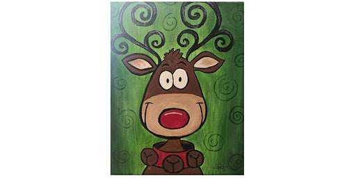 Paint Your Favorite Reindeer! Presented by The Artists' Garden