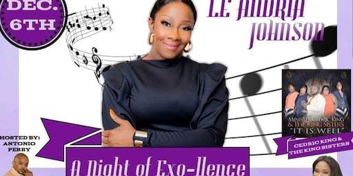 Le'Andria Johnson Live