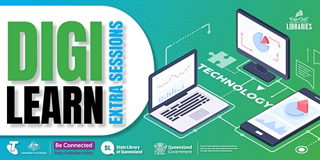Digi Learn - sharing photos and attachments online - Maryborough Library tickets