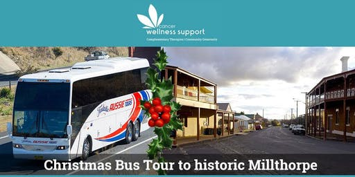 Cancer Wellness Support Millthorpe Christmas Bus Tour
