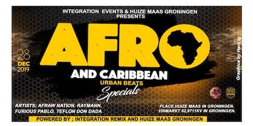 AFRO & Caribbean URBAN, Club Huize Maas Groningen.