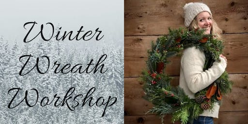 Winter Wreath Workshop - Fergus Fall Fair Fundraiser