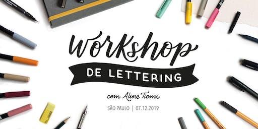 Workshop de Lettering - São Paulo | 07 de Dezembro