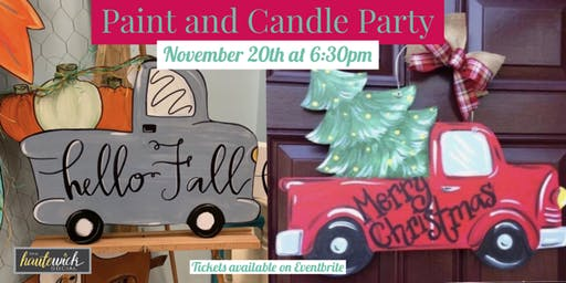 November Paint and Candle Party
