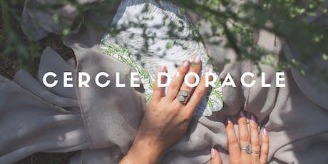 Cercle d'Oracle | Ancrage & Intuition billets