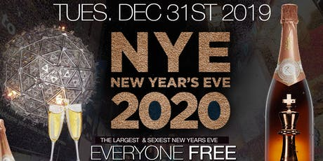 NEW YEARS EVE 2020 BALL • FREE ON RSVP B4 11 • FREE CHAMP TOAST • OPEN BAR tickets