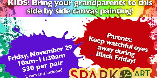 Grandparents Painting Day