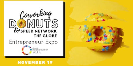 Coworking Donuts & Speed Network the Globe tickets