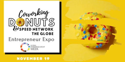 Coworking Donuts & Speed Network the Globe