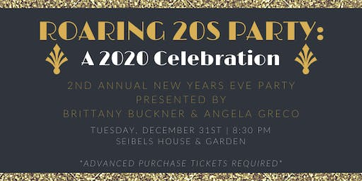 Roaring 20s Party - NYE 2019