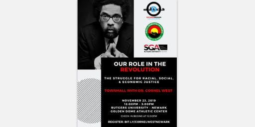 Town Hall with Dr. Cornel West