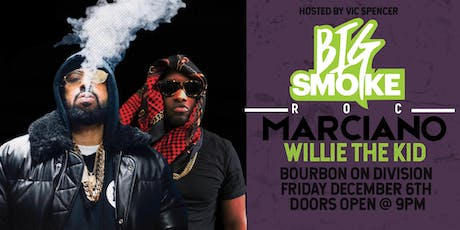 Roc Marciano & Willie The Kid at Bourbon On Division...FREE LAGUNITAS BEER! tickets