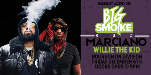 Roc Marciano & Willie The Kid at Bourbon On Division hosted by Vic Spencer!