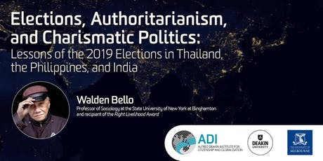 Elections, Authoritarianism, and Charismatic Politics tickets